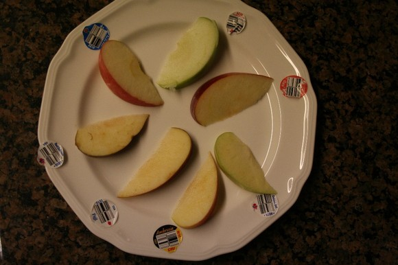 Taste Test: Apples
