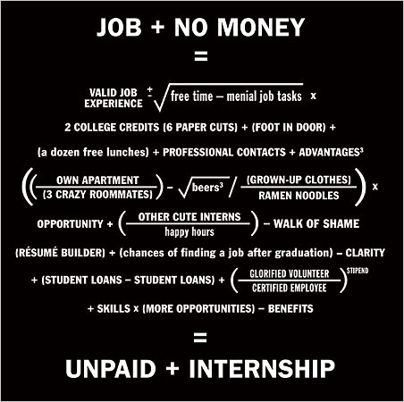 Confessions of an Unpaid Intern